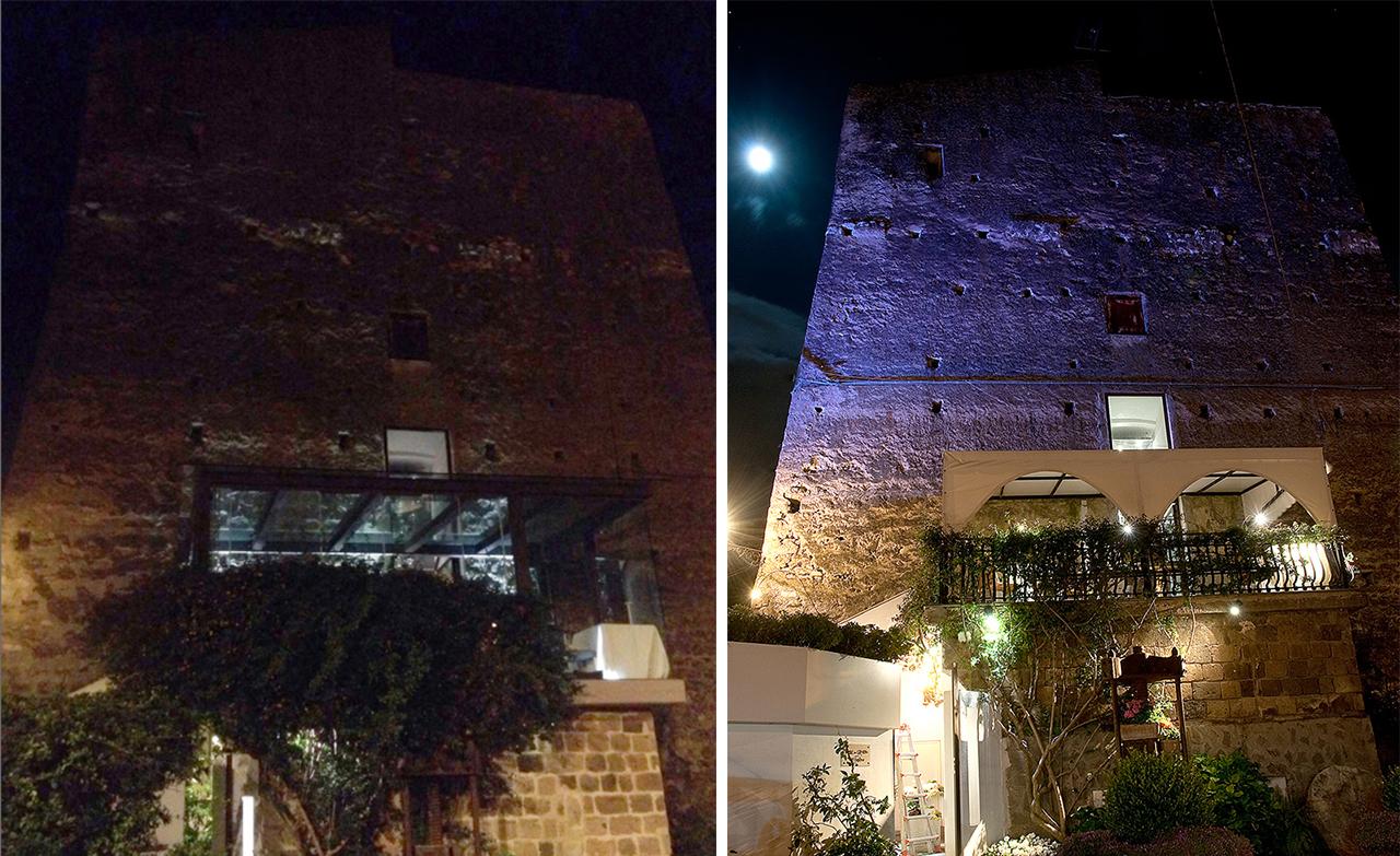 Gli effetti di una cattiva illuminazione esterna - Cannata Factory
