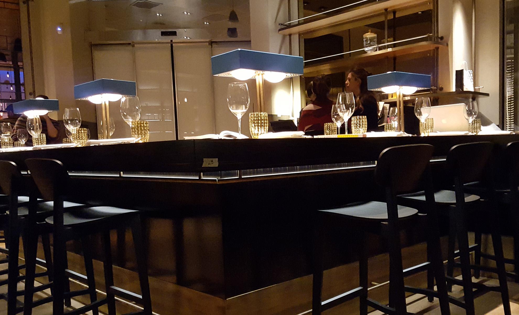 Nuova luce per il ristorante langosteria cafè a milano cannata