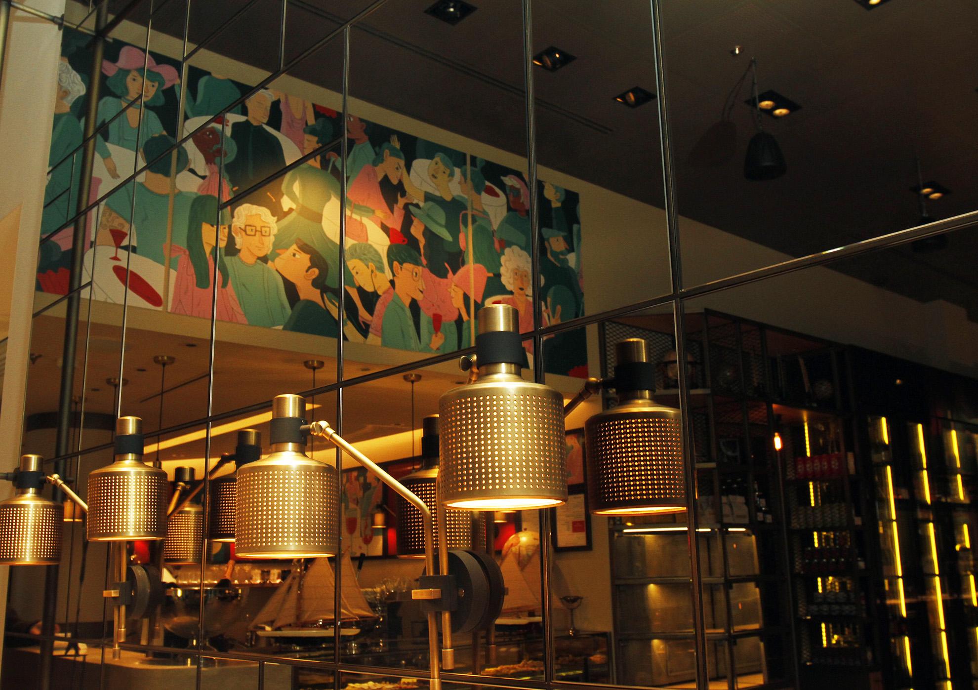 Ristorante langosteria cafè milano cannata factory