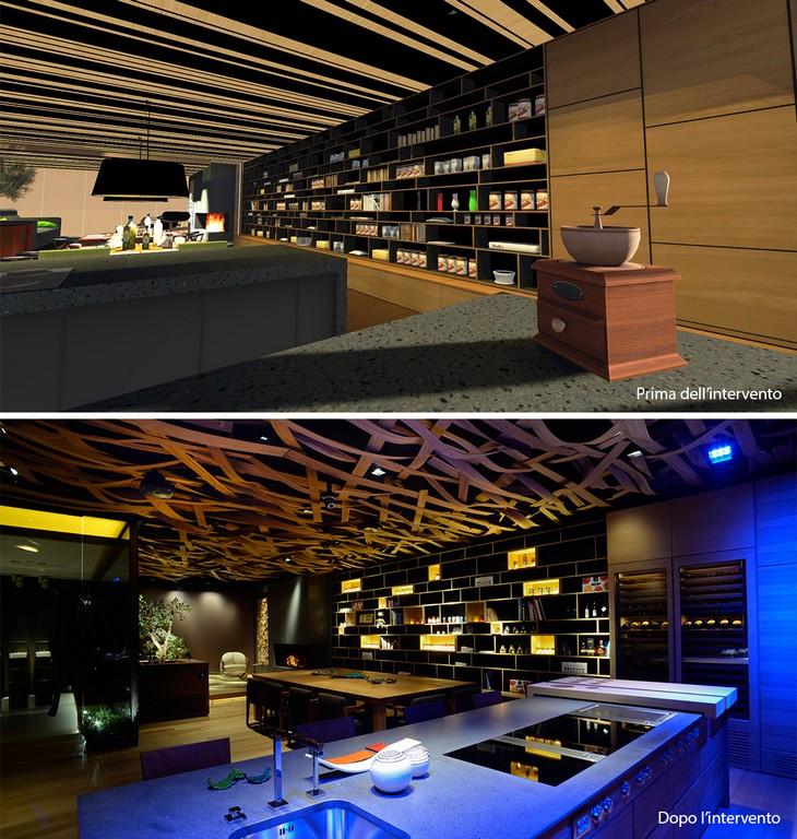 Illuminazione a LED per ristoranti: quali vantaggi