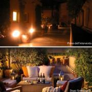 Come illuminare la terrazza del vostro ristorante